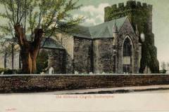 St Nicholas church, depicted in a charming hand-coloured postcard  circa 1900. (A Stewart collection)