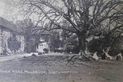 The manor and grounds, in a more leisurely age.